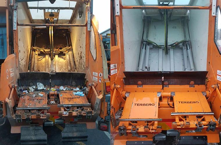 Truck fleet cleaning in Oxfordshie
