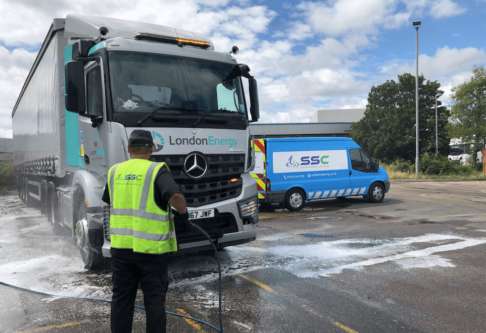 Truck Wash in london